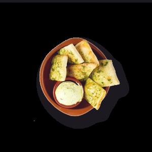 Toskaanse broodjes met kruidenboter